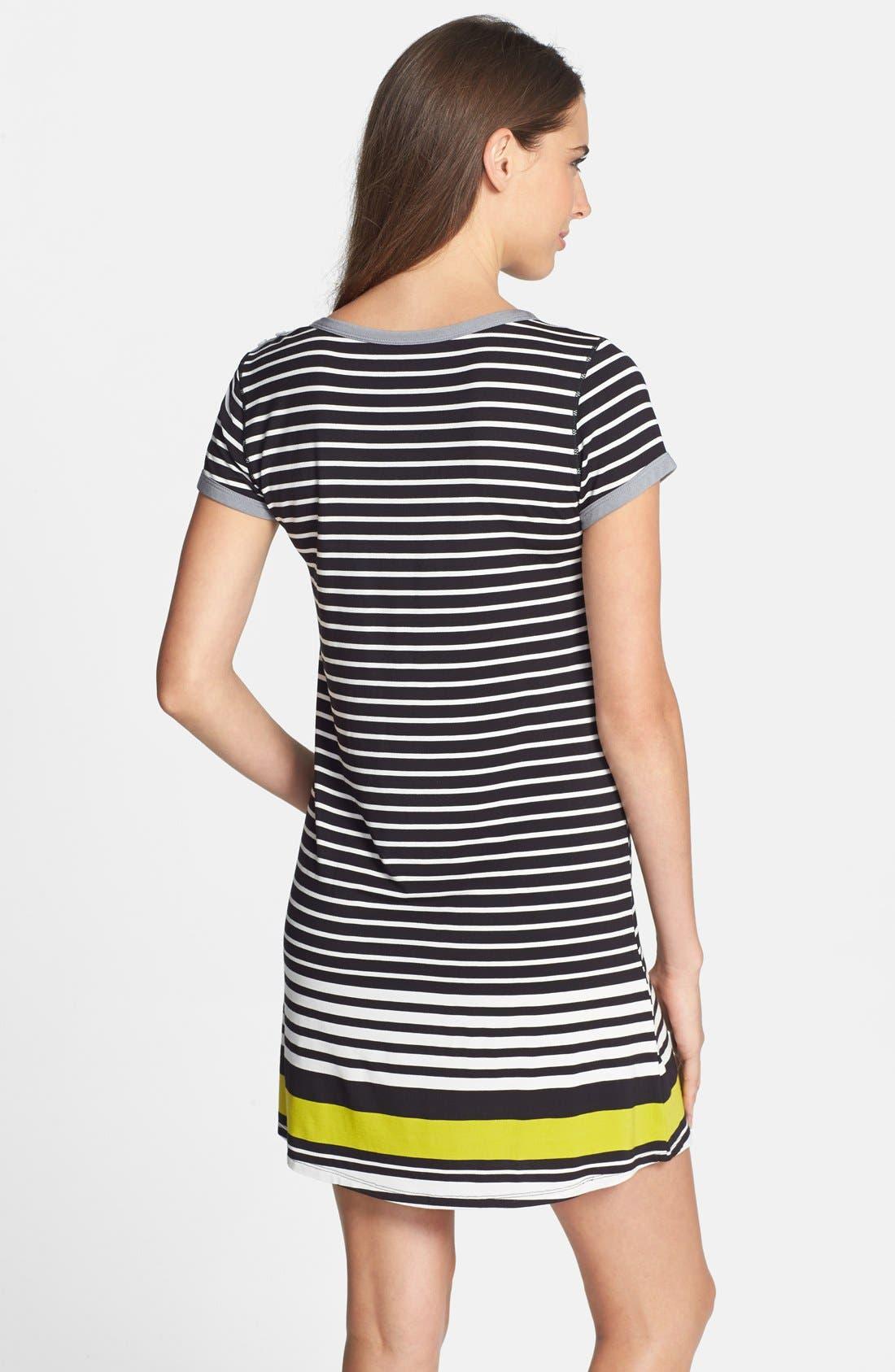 Alternate Image 2  - DKNY 'Graphic Avenue' Print Jersey Sleep Shirt