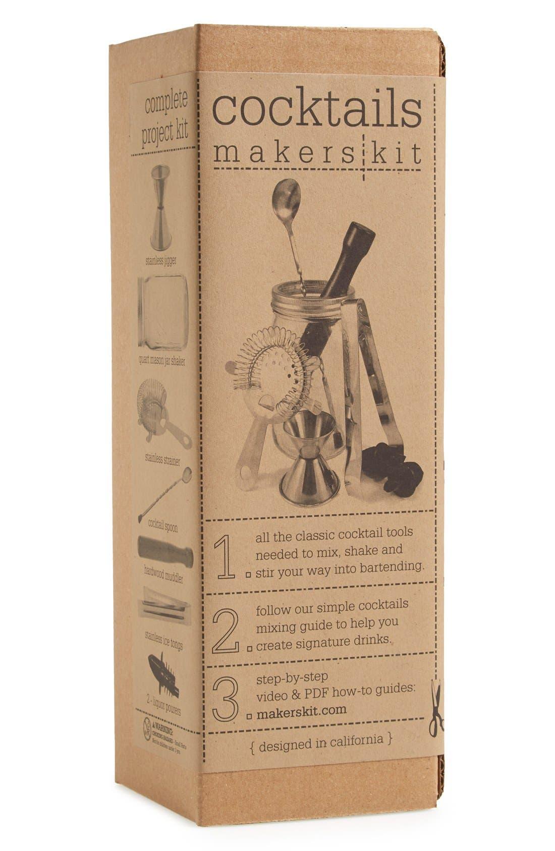 Alternate Image 1 Selected - Makerskit 'Classic Cocktails' Bar Set