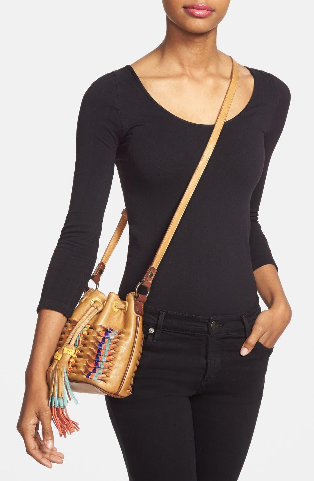 Alternate Image 2  - Frye 'Heather' Leather Bucket Bag