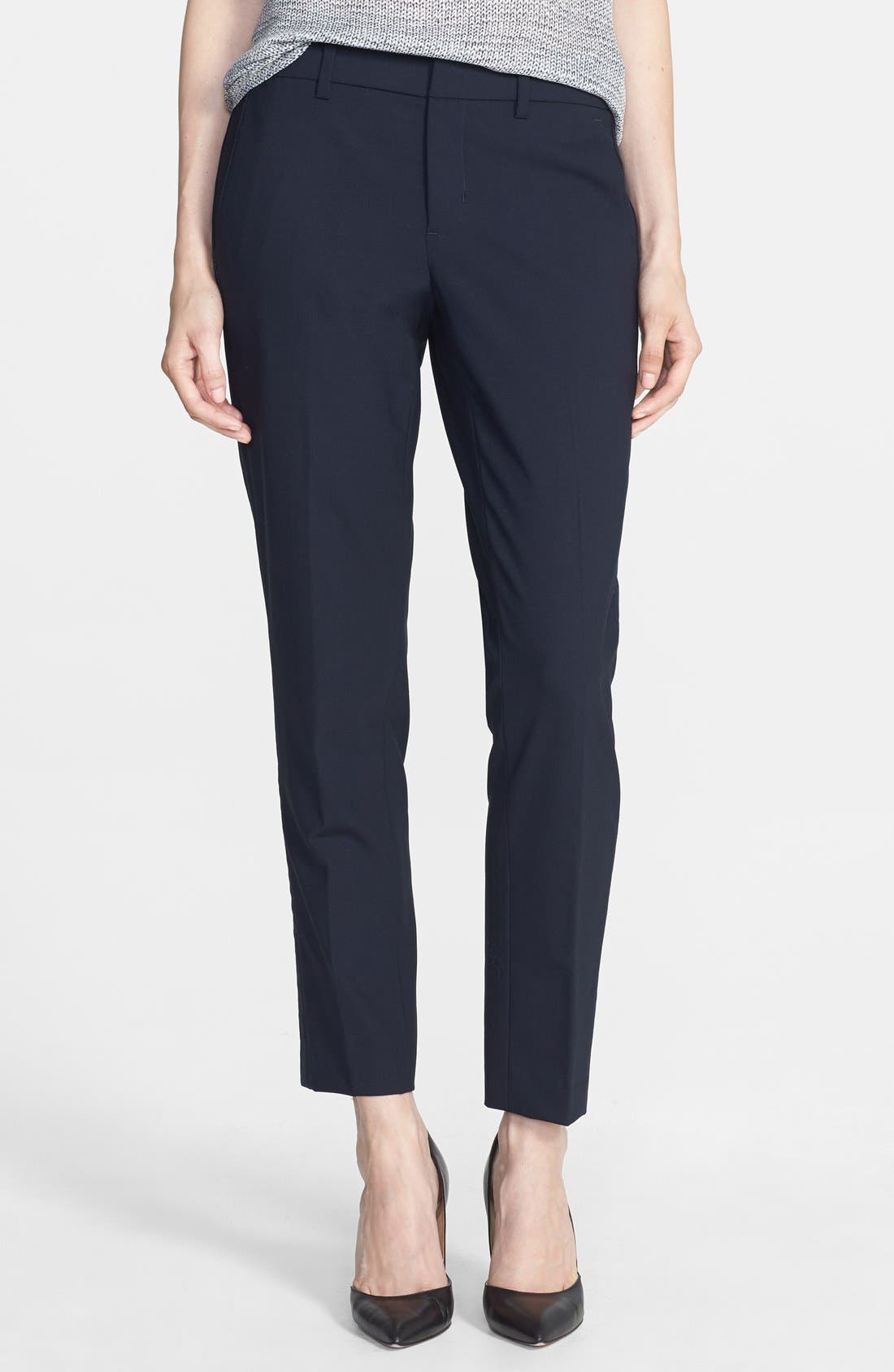 Main Image - Vince 'Strapping' Stretch Wool Trousers