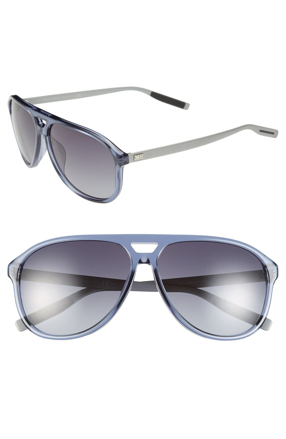 Alternate Image 1 Selected - Dior Homme 60mm Sunglasses