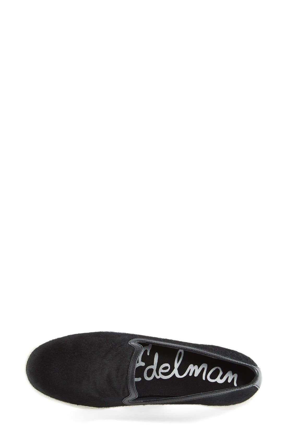 Alternate Image 3  - Sam Edelman 'Becker' Calf Hair Slip On