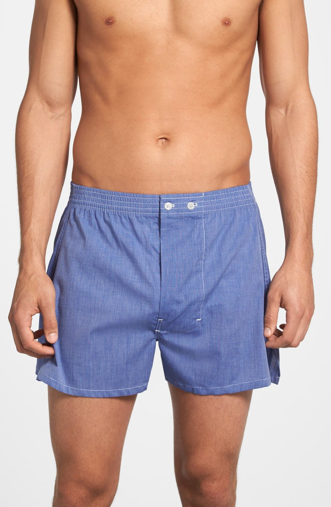 Alternate Image 1 Selected - Nordstrom Men's Shop 3-Pack Classic Fit Boxers