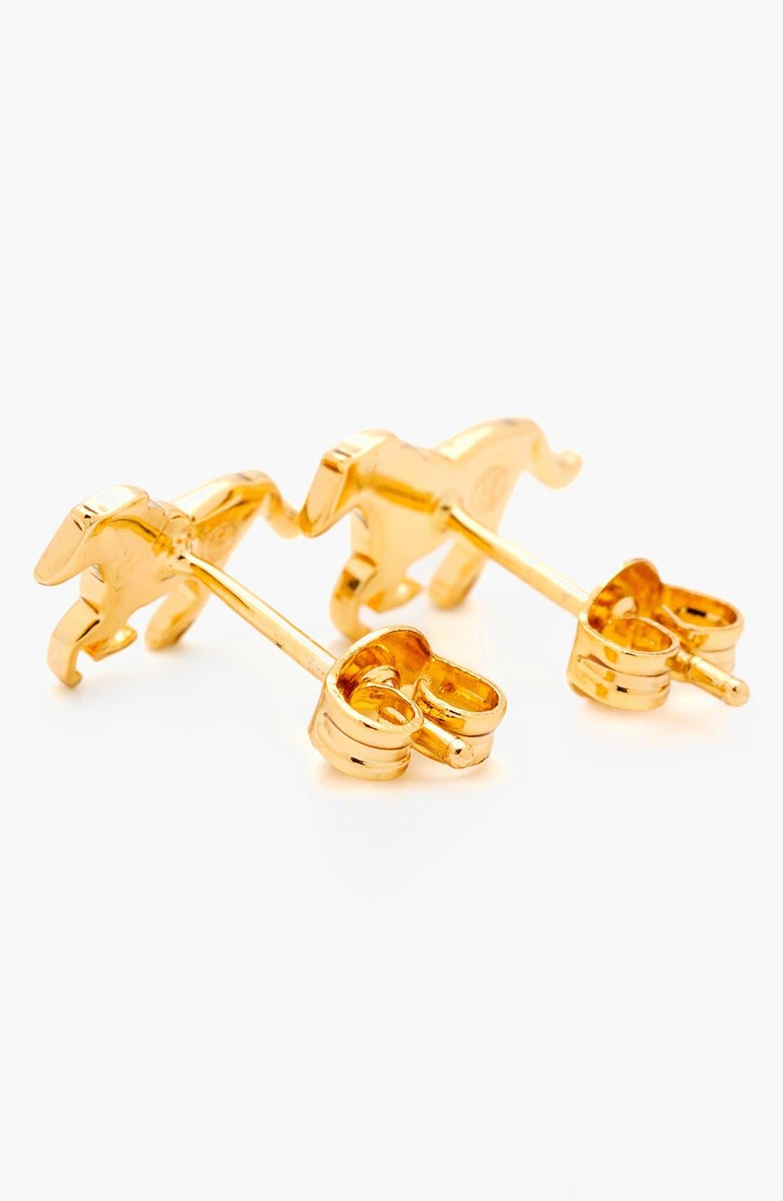 Alternate Image 3  - gorjana 'Horse' Stud Earrings