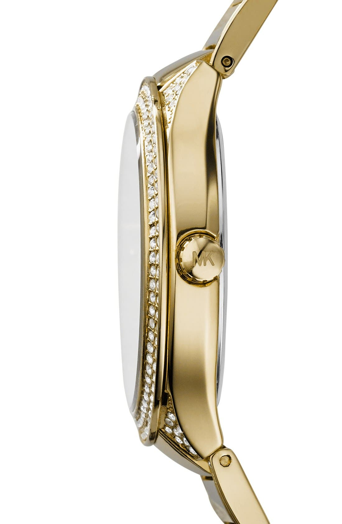 Alternate Image 2  - Michael Kors 'Kerry' Crystal Accent Bracelet Watch, 38mm