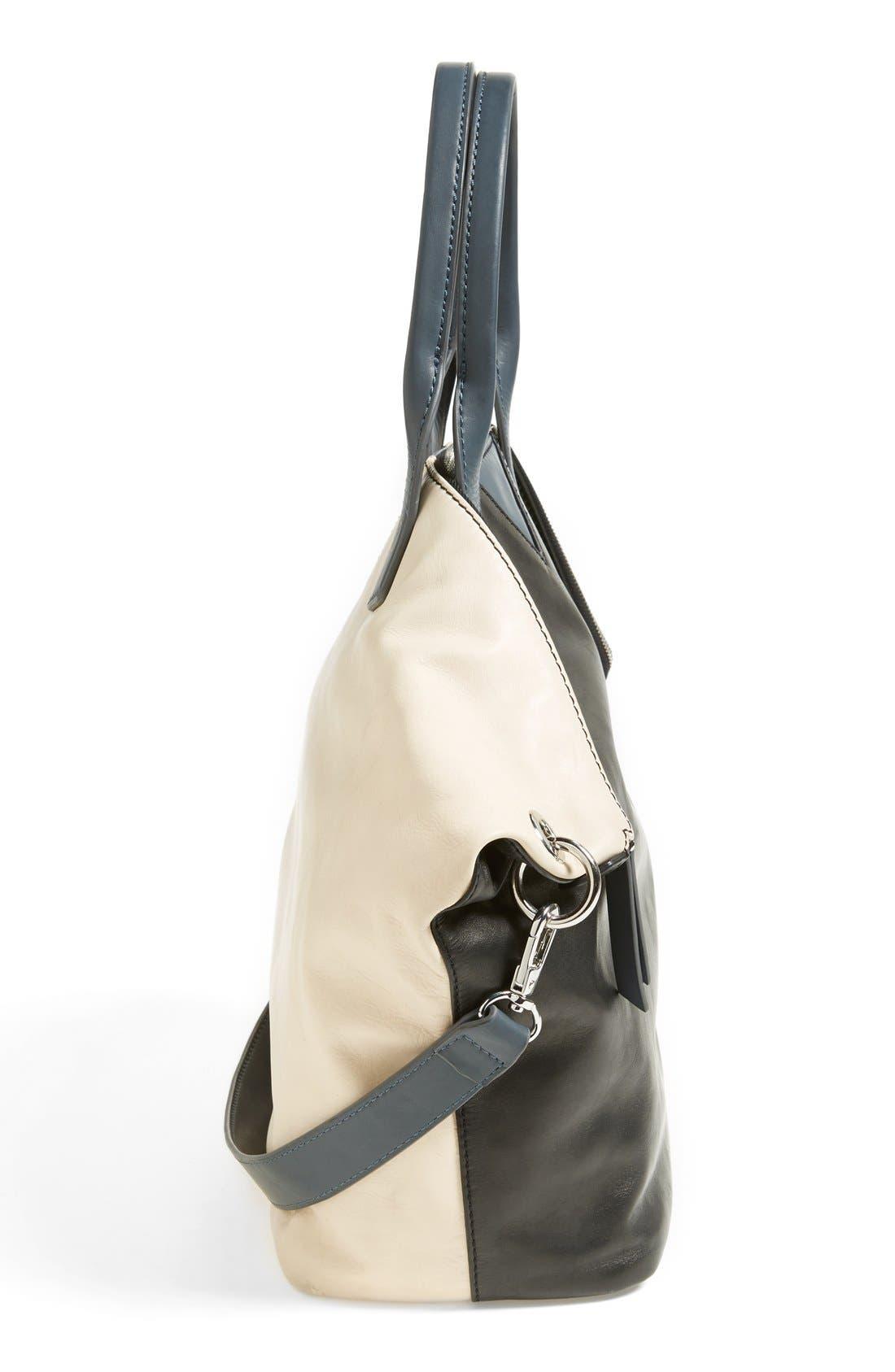 Alternate Image 4  - Sam Edelman 'Sharp Graphic' Leather Satchel