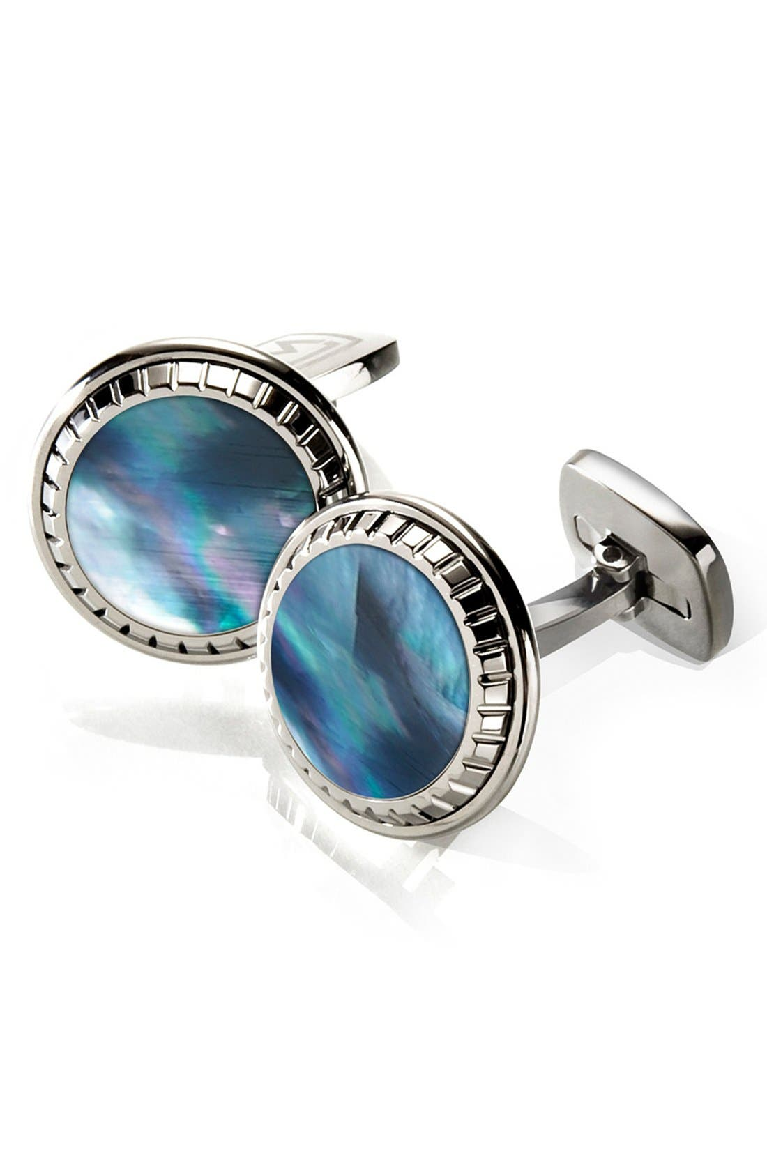 Main Image - M-Clip® Stainless Steel Cuff Links