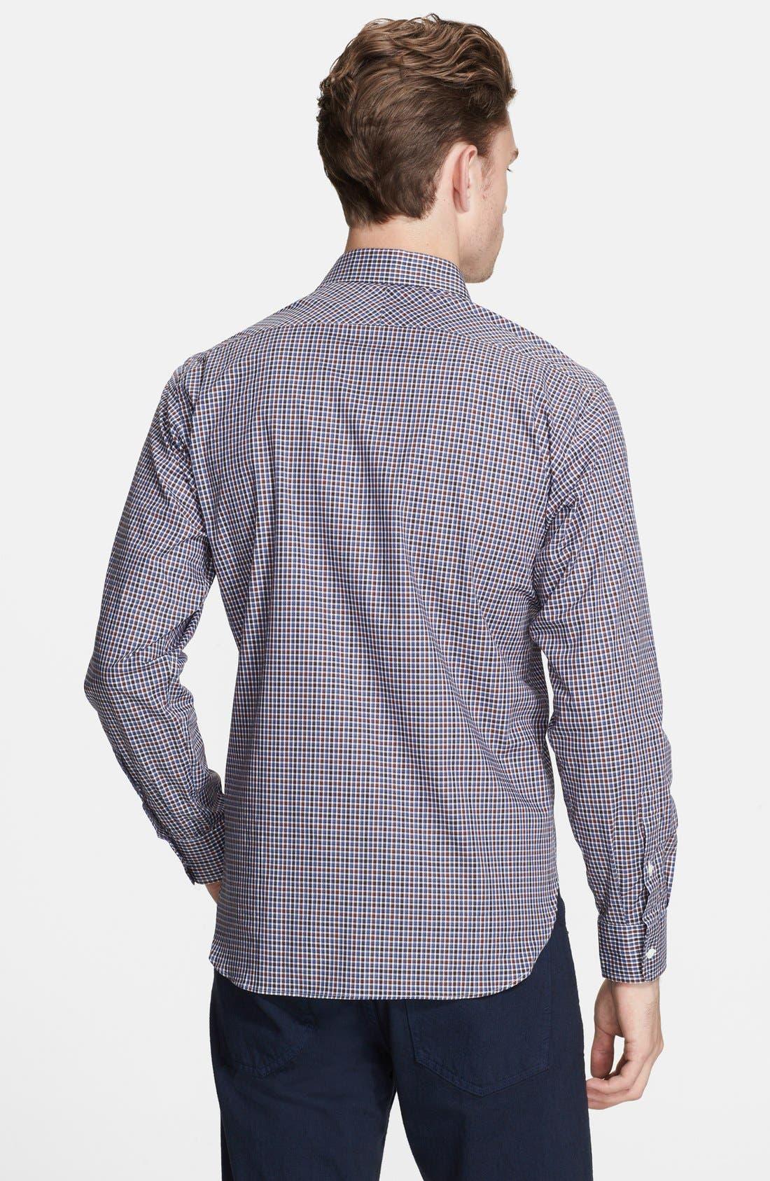 Alternate Image 3  - Billy Reid 'John T' Standard Fit Check Woven Shirt