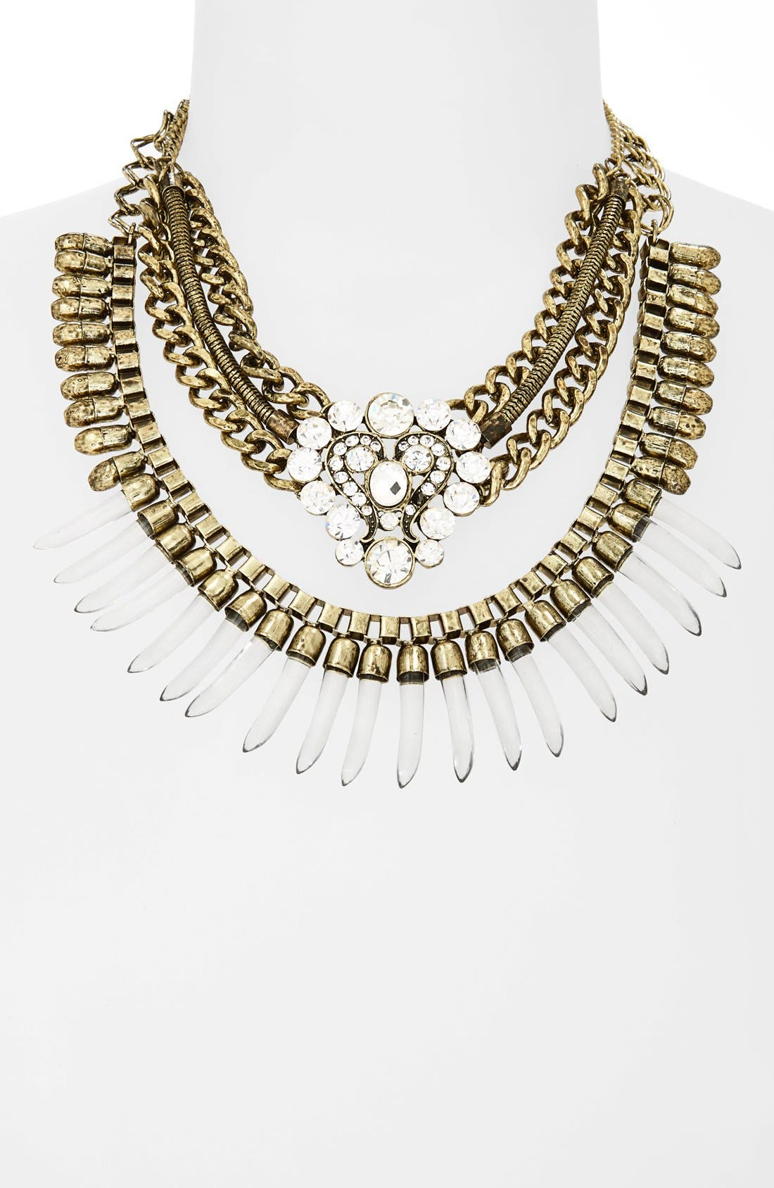 Main Image - Leith 3-in-1 Statement Necklace