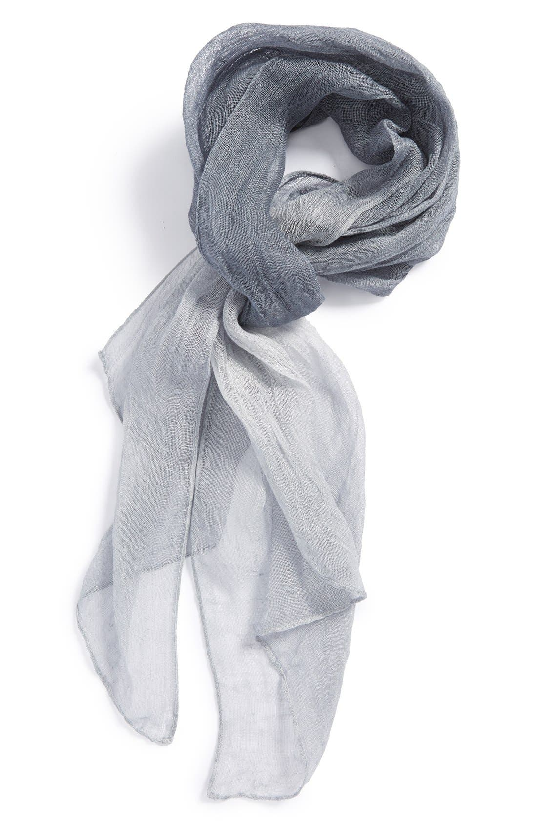 Main Image - Eileen Fisher Linen Scarf