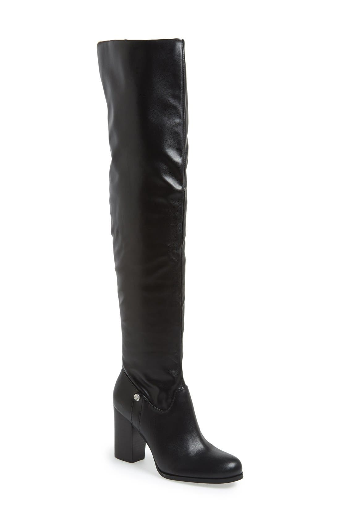 Alternate Image 1 Selected - GUESS 'Dandra' Foldable Over the Knee Boot (Women)