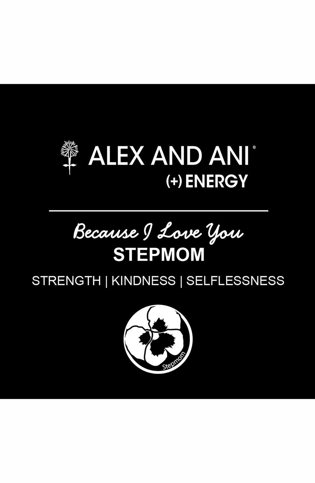 Alternate Image 2  - Alex and Ani 'Stepmom' Expandable Wire Bangle