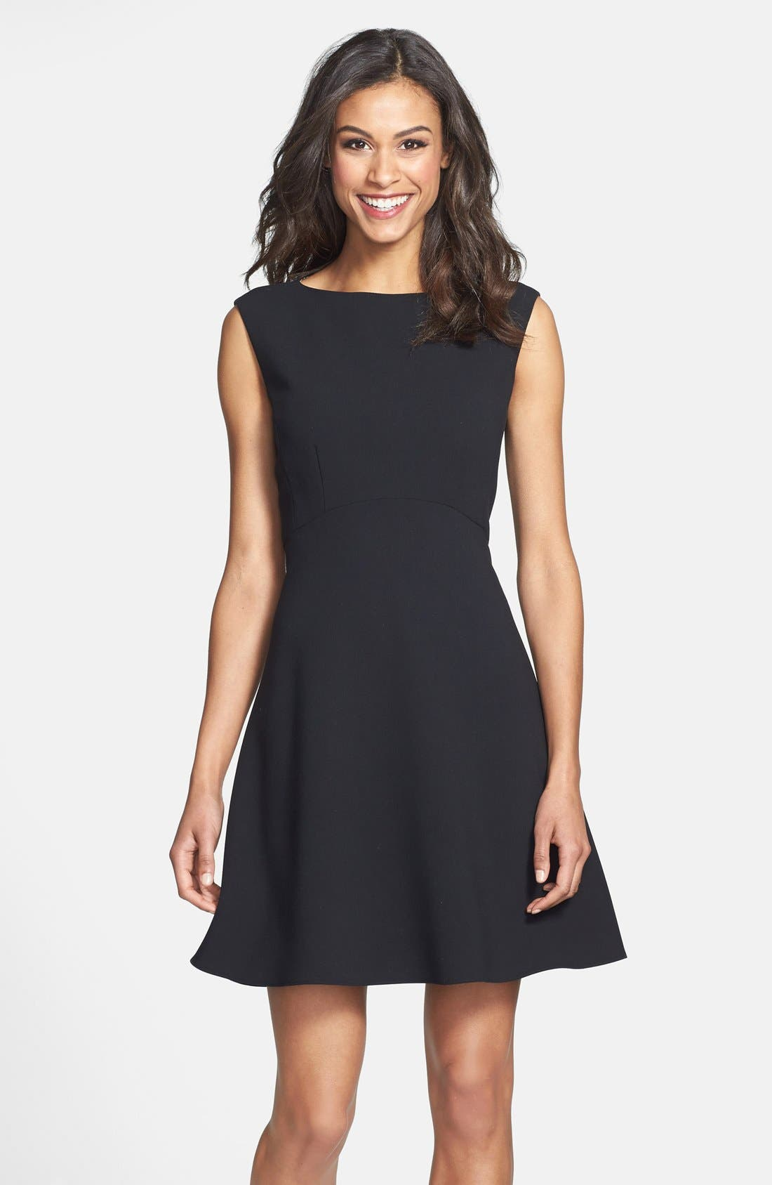 Main Image - Tahari Empire Waist Fit & Flare Dress