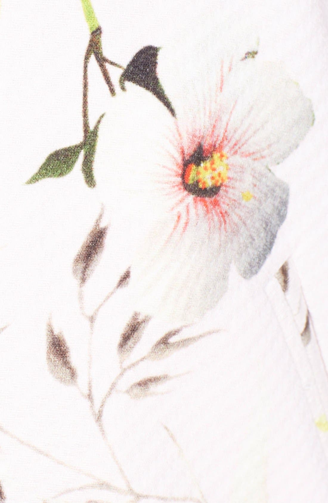 Alternate Image 3  - Ted Baker London 'Caithi' Floral Print Bomber Jacket