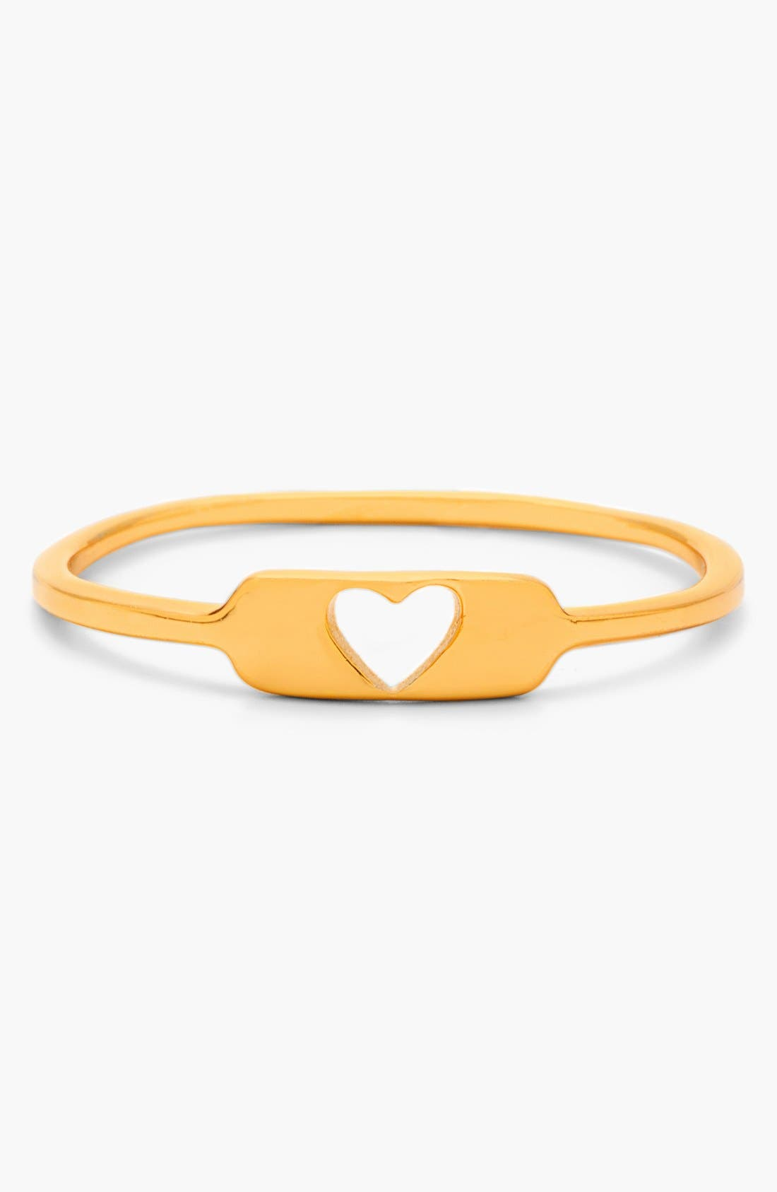 Alternate Image 1 Selected - gorjana 'Cutout Heart' Ring