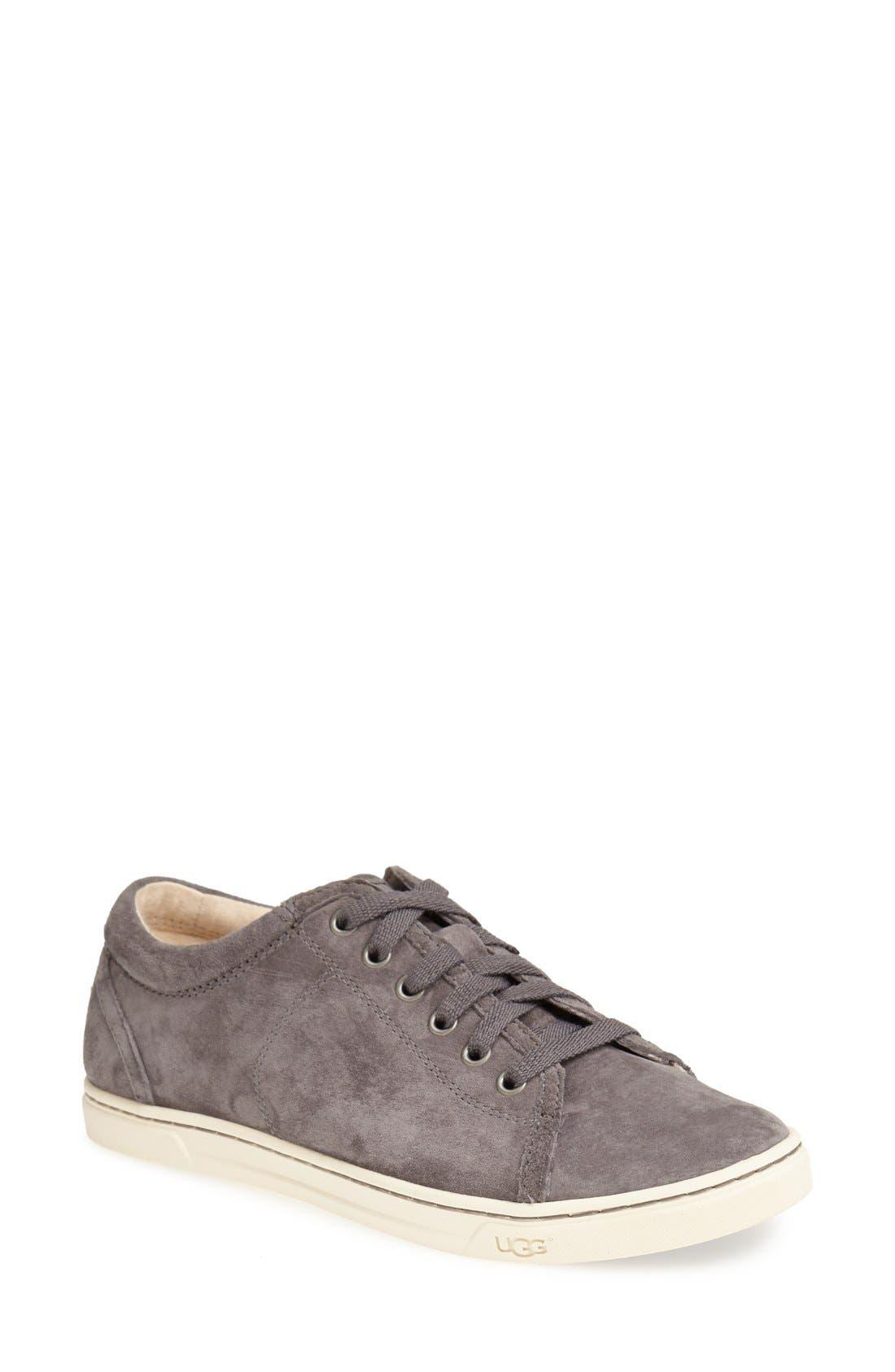 Main Image - UGG® 'Tomi' Water Resistant Suede Sneaker (Women)