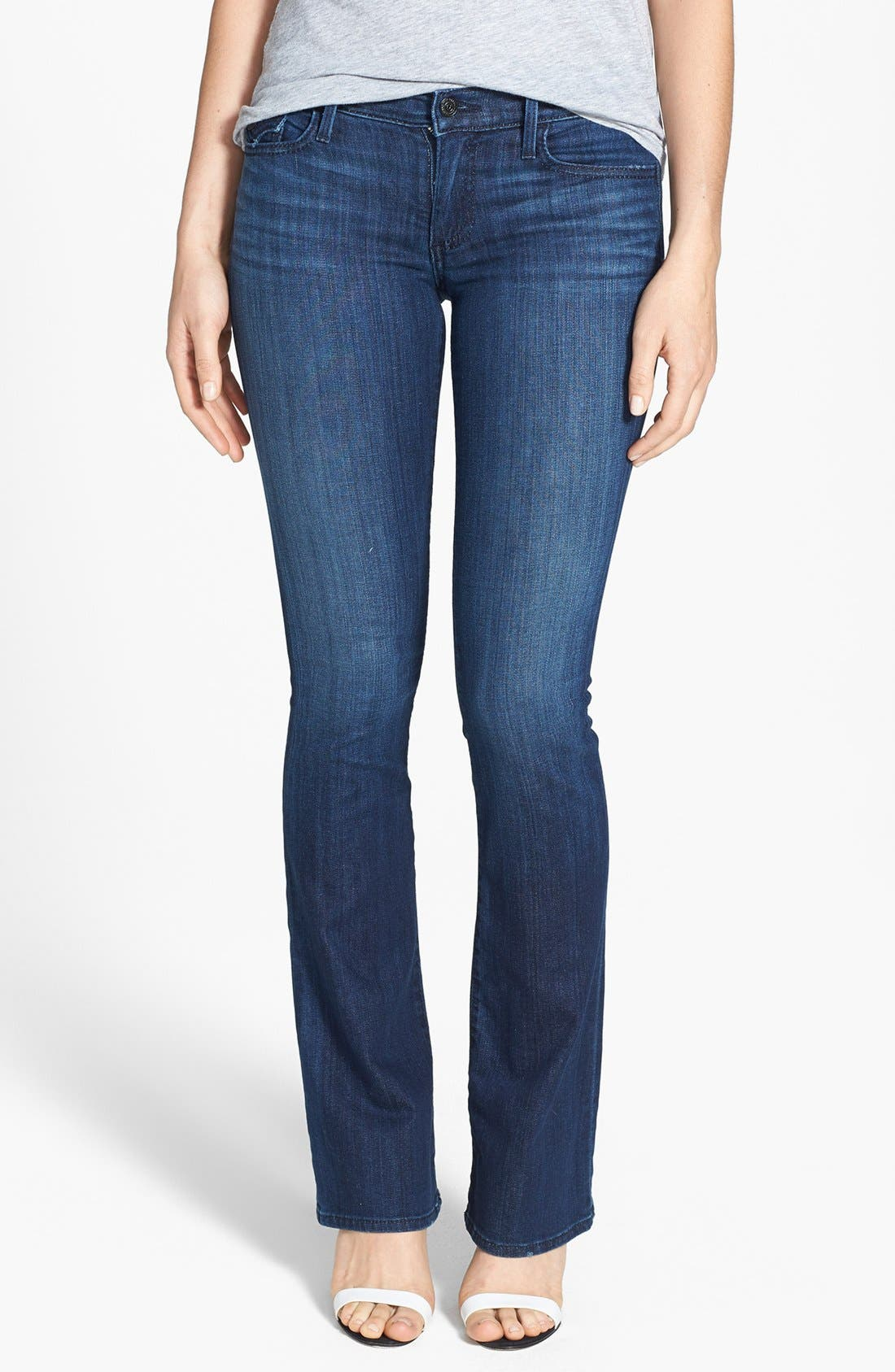 Alternate Image 1 Selected - True Religion Brand Jeans 'Becca' Bootcut Jeans (Faithful Message)