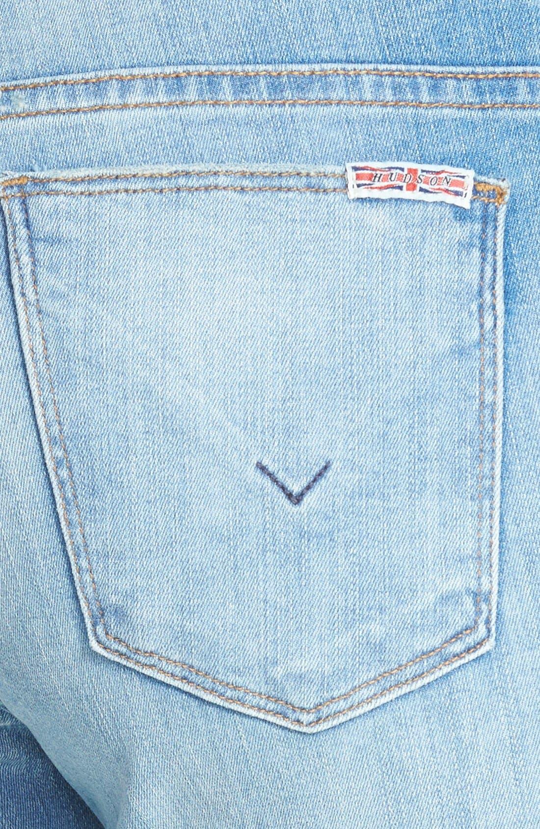 Alternate Image 3  - Hudson Jeans 'Krista' Super Skinny Jeans (Mischief)