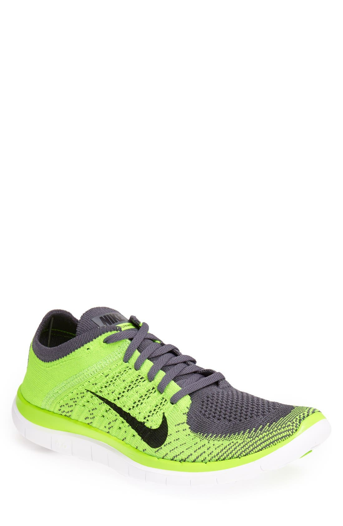 Alternate Image 1 Selected - Nike 'Free 4.0 Flyknit' Running Shoe (Men)
