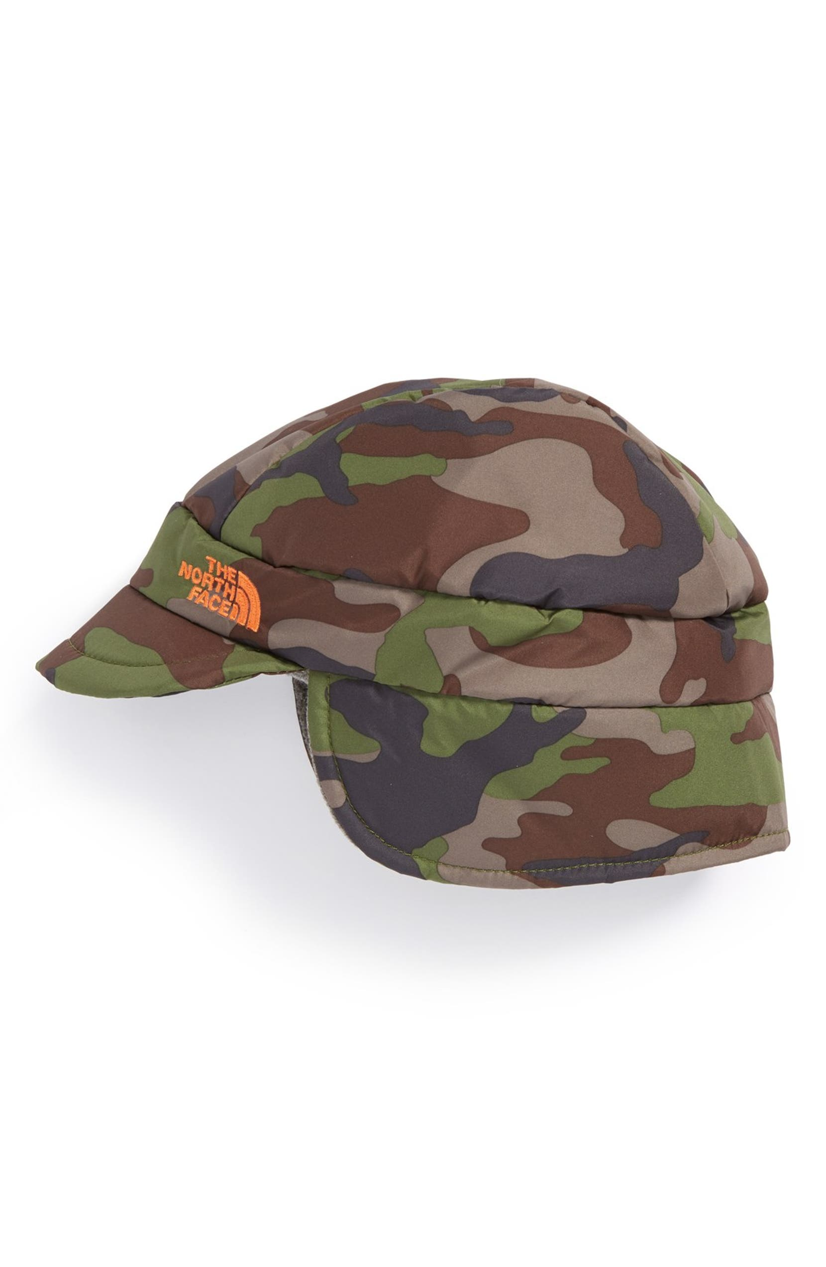 e1d3547e645 ... lace up in 1b453 a0650 The North Face Flapjacks Ear Flap Hat (Baby  Boys) ...