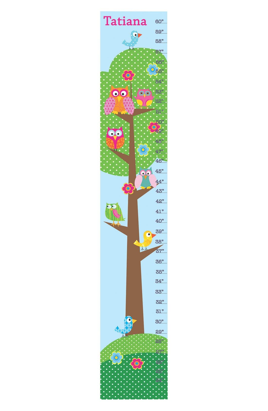 Alternate Image 1 Selected - Stupell 'Tree' Personalized Growth Chart