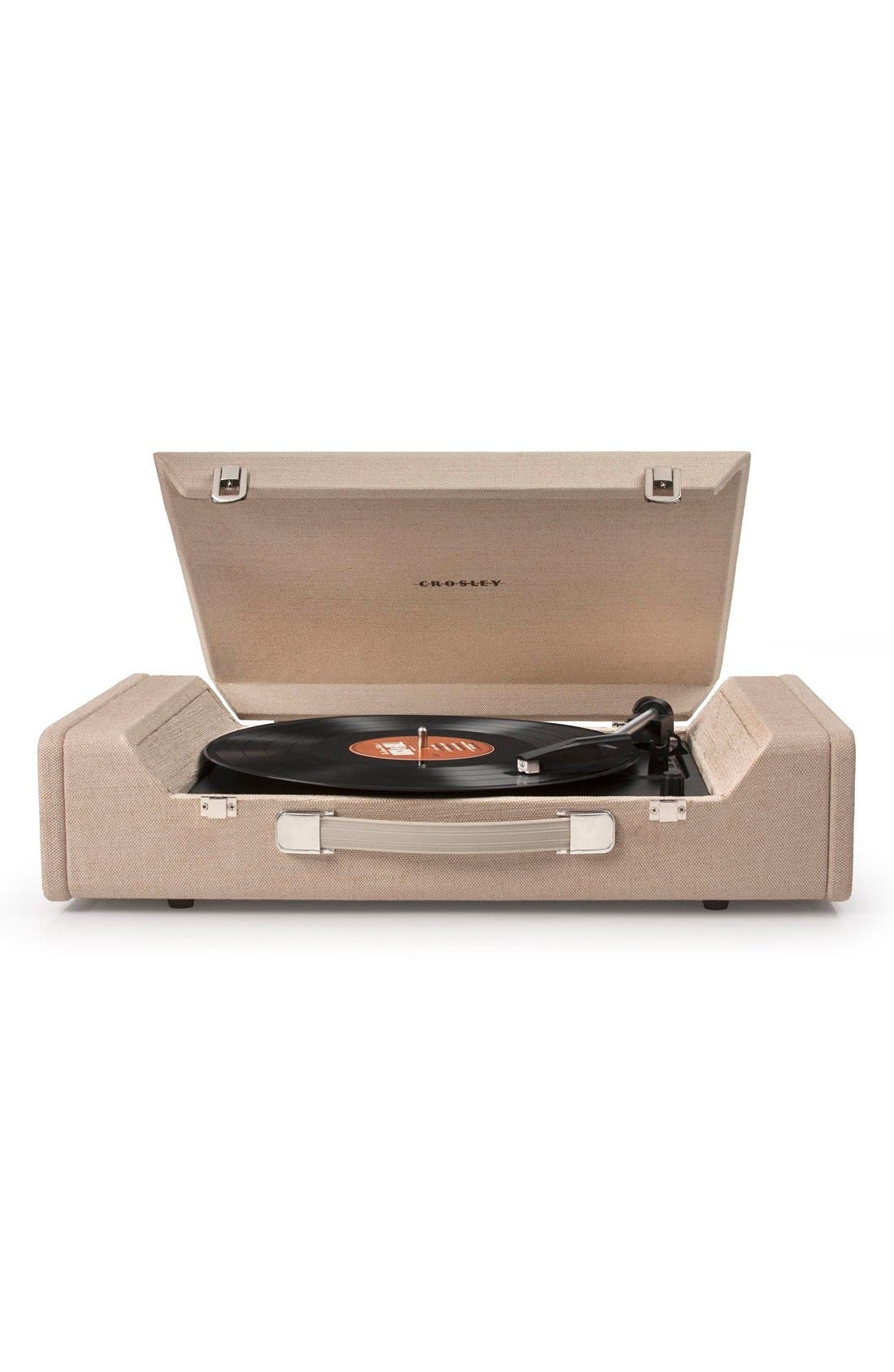 'Nomad' Turntable,                             Main thumbnail 1, color,                             Beige/ Khaki