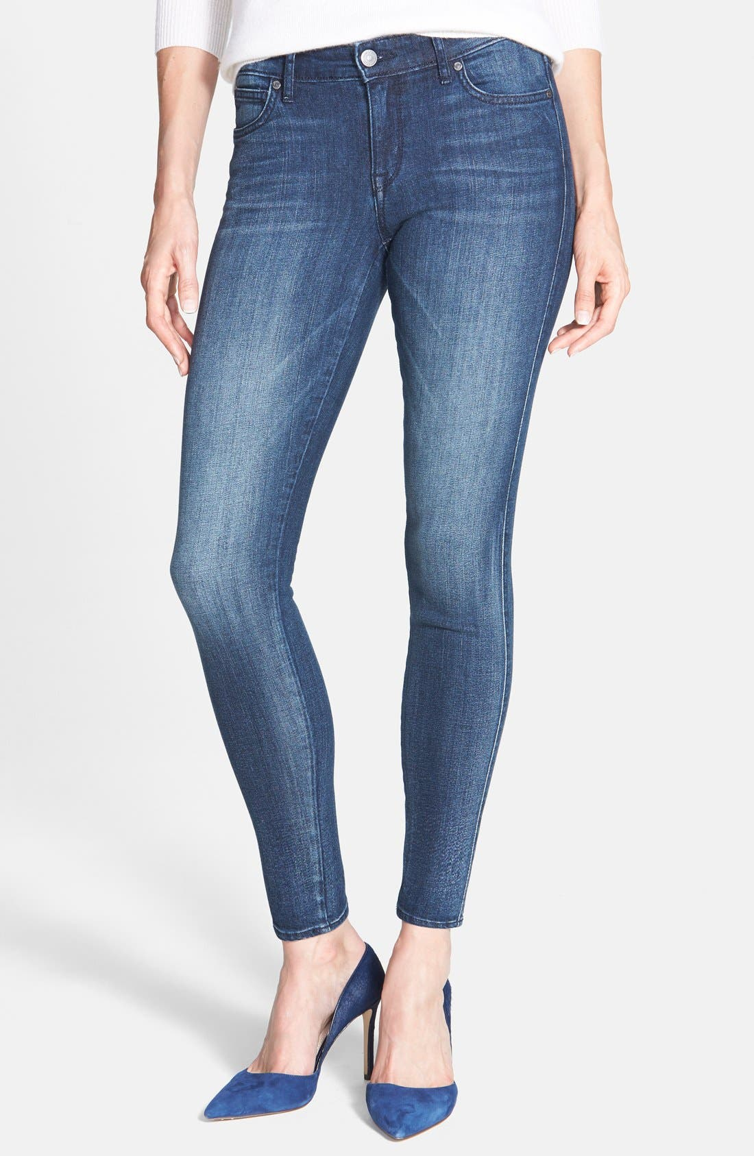 Alternate Image 1 Selected - CJ by Cookie Johnson 'Wisdom' Stretch Ankle Skinny Jeans (Mills)
