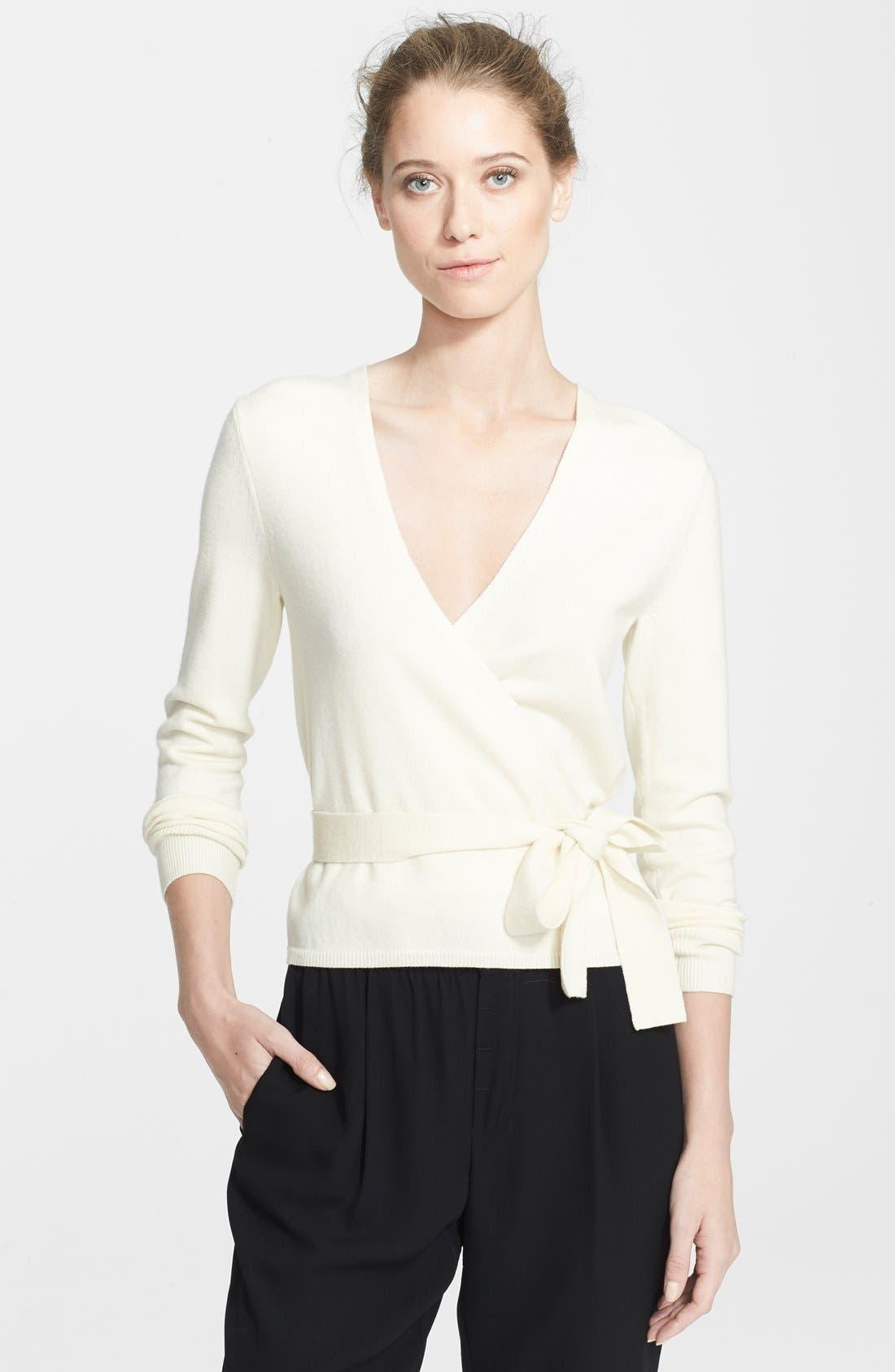 Alternate Image 1 Selected - Diane von Furstenberg 'Ballerina' Cardigan Sweater