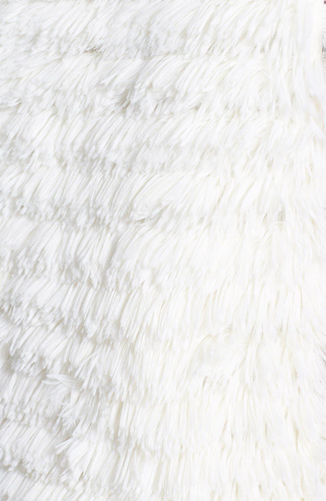 Alternate Image 3  - Jolt Faux Fur Vest (Juniors)