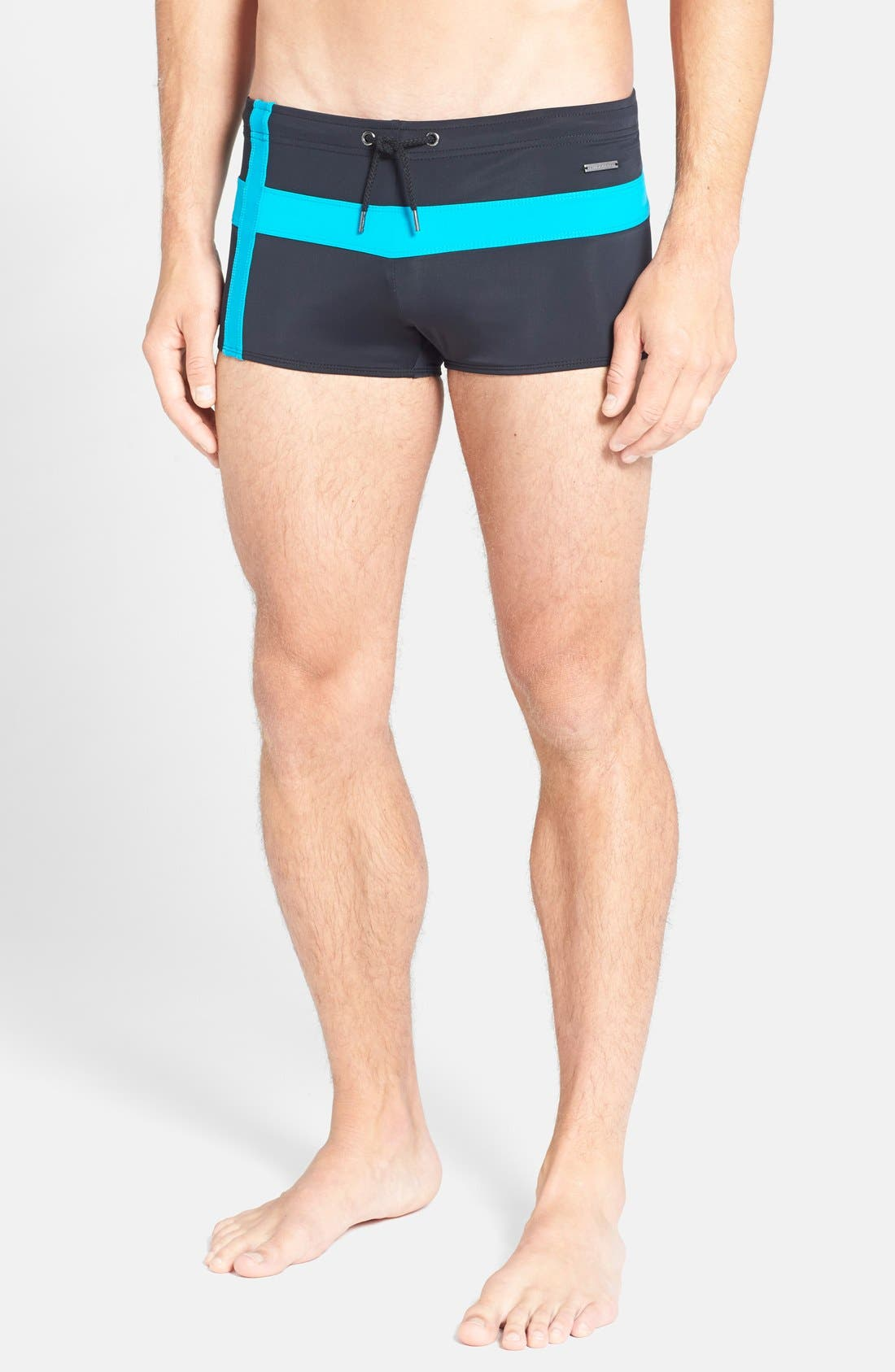 Alternate Image 1 Selected - Parke & Ronen 'Ibiza Cross' Square Cut Swim Briefs