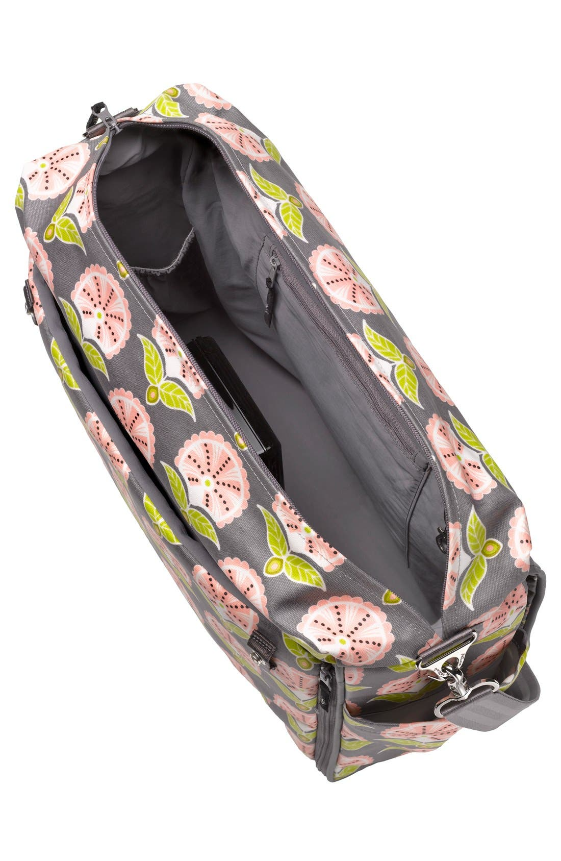 Alternate Image 4  - Petunia Pickle Bottom 'Glazed Abundance' Boxy Diaper Backpack