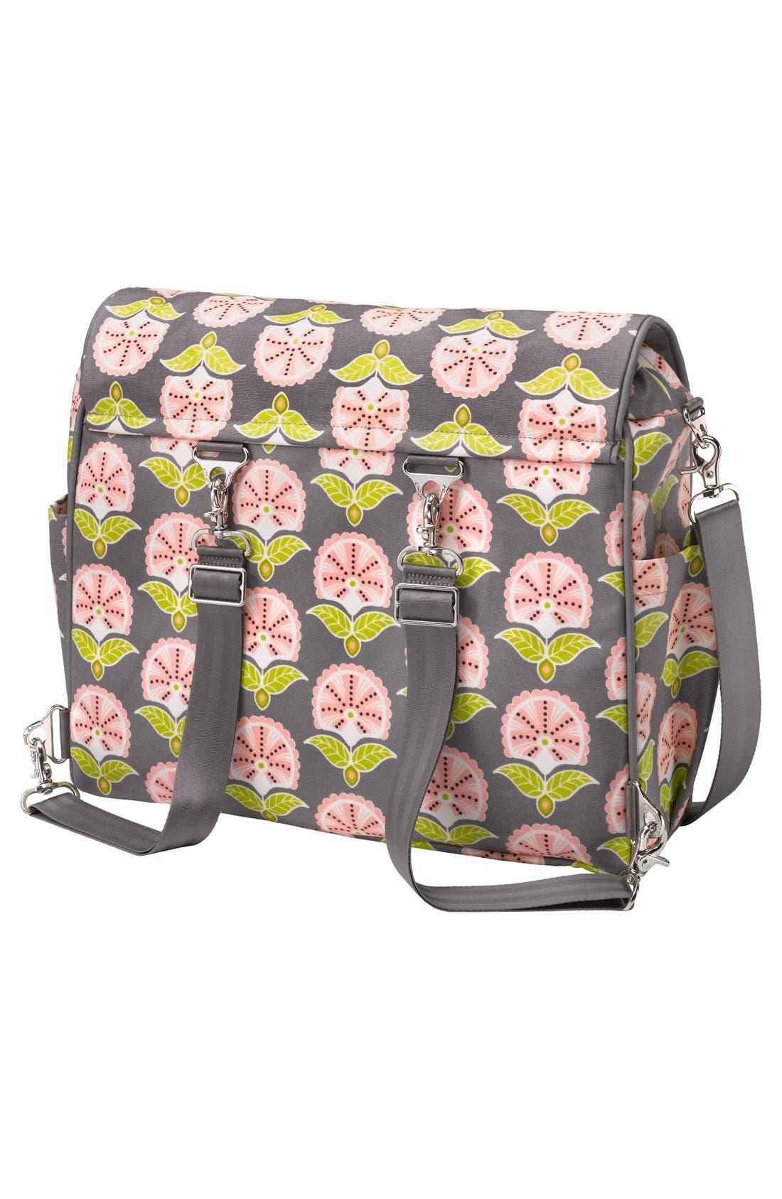 Alternate Image 2  - Petunia Pickle Bottom 'Glazed Abundance' Boxy Diaper Backpack