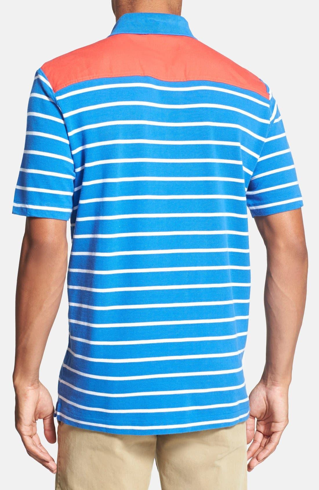 Alternate Image 2  - Vineyard Vines 'Shep' Stripe Polo Shirt