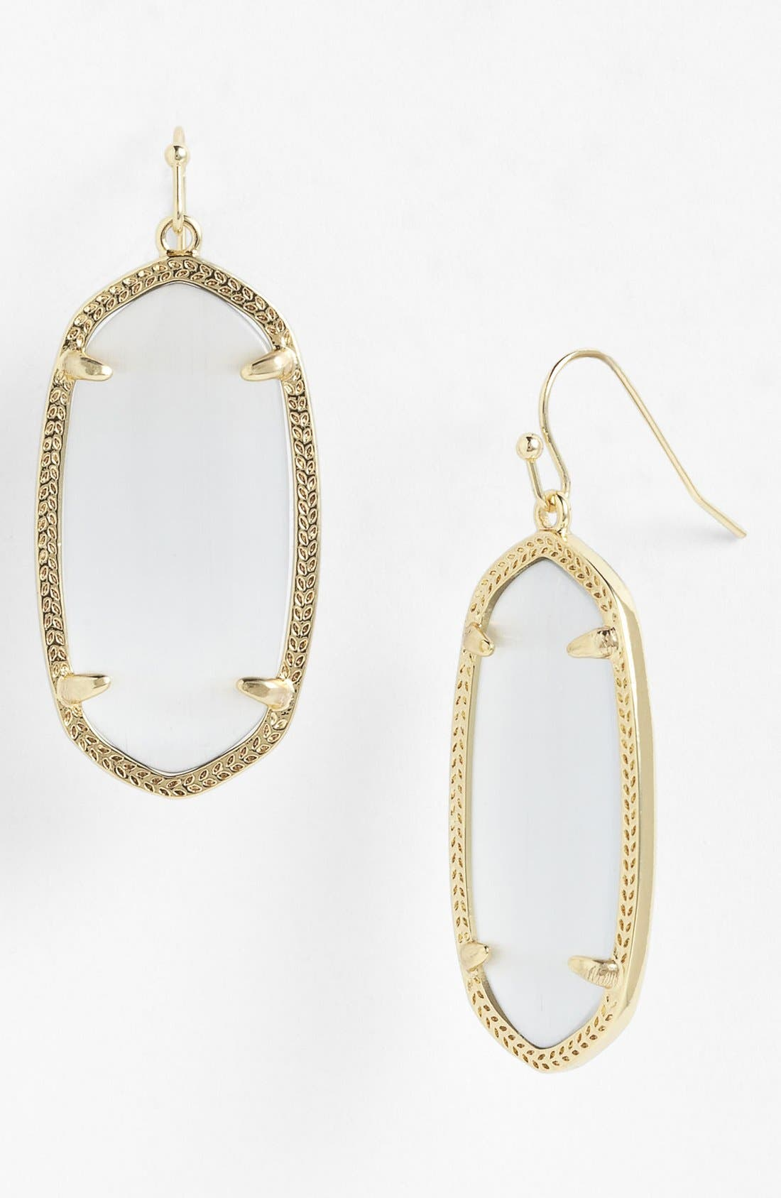 Kendra Scott Elle Filigree Drop Earrings