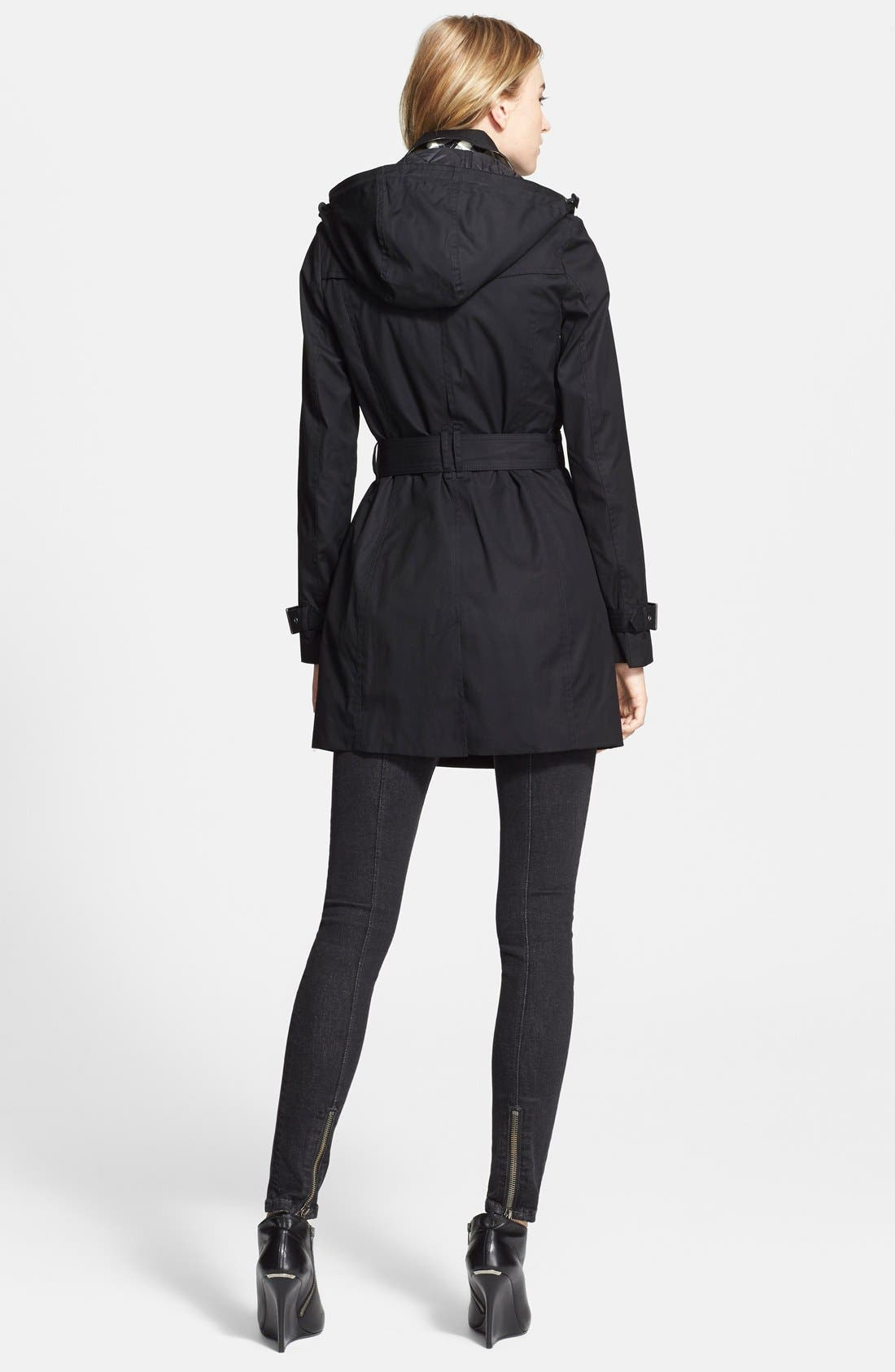 Alternate Image 3  - Burberry Brit 'Reymoore' Trench Coat with Detachable Hood & Liner