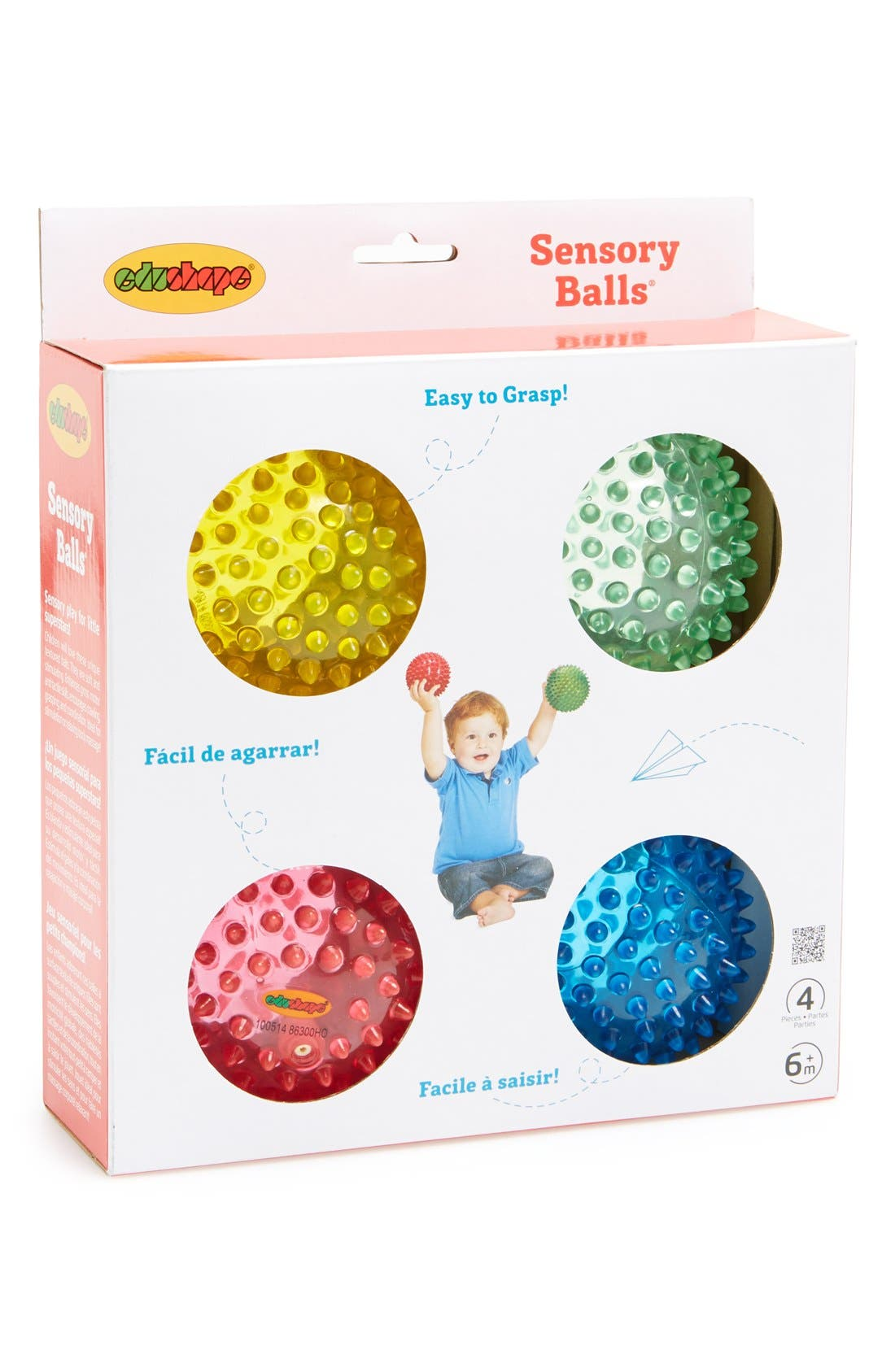 'Sensory Ball<sup>®</sup>' Toy Balls,                         Main,                         color, Assorted