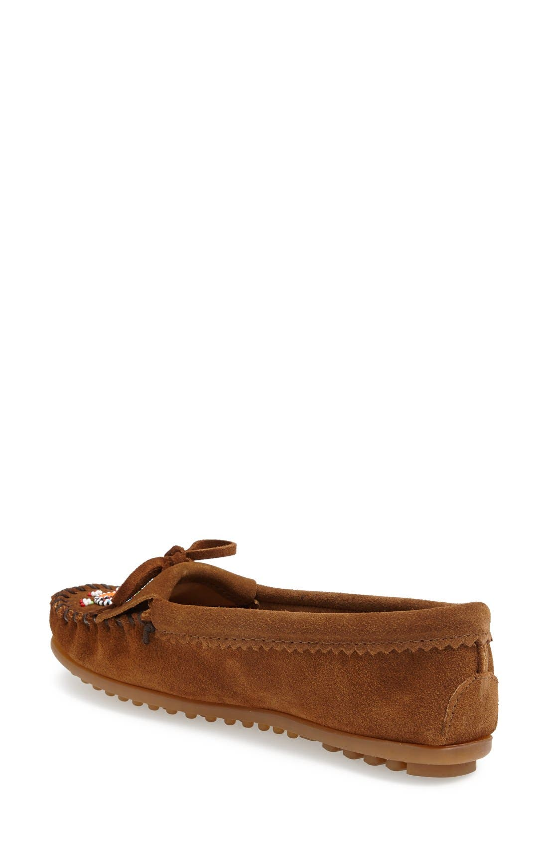 'Me to We Artisans - Kilty' Beaded Moccasin,                             Alternate thumbnail 2, color,                             Dusty Brown