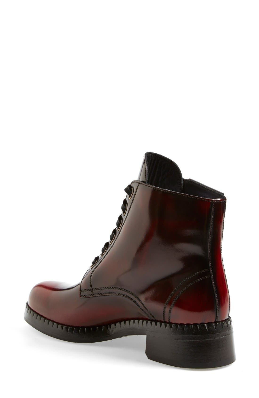 Alternate Image 2  - Dolce&Gabbana Lace-Up Ankle Boot (Women)