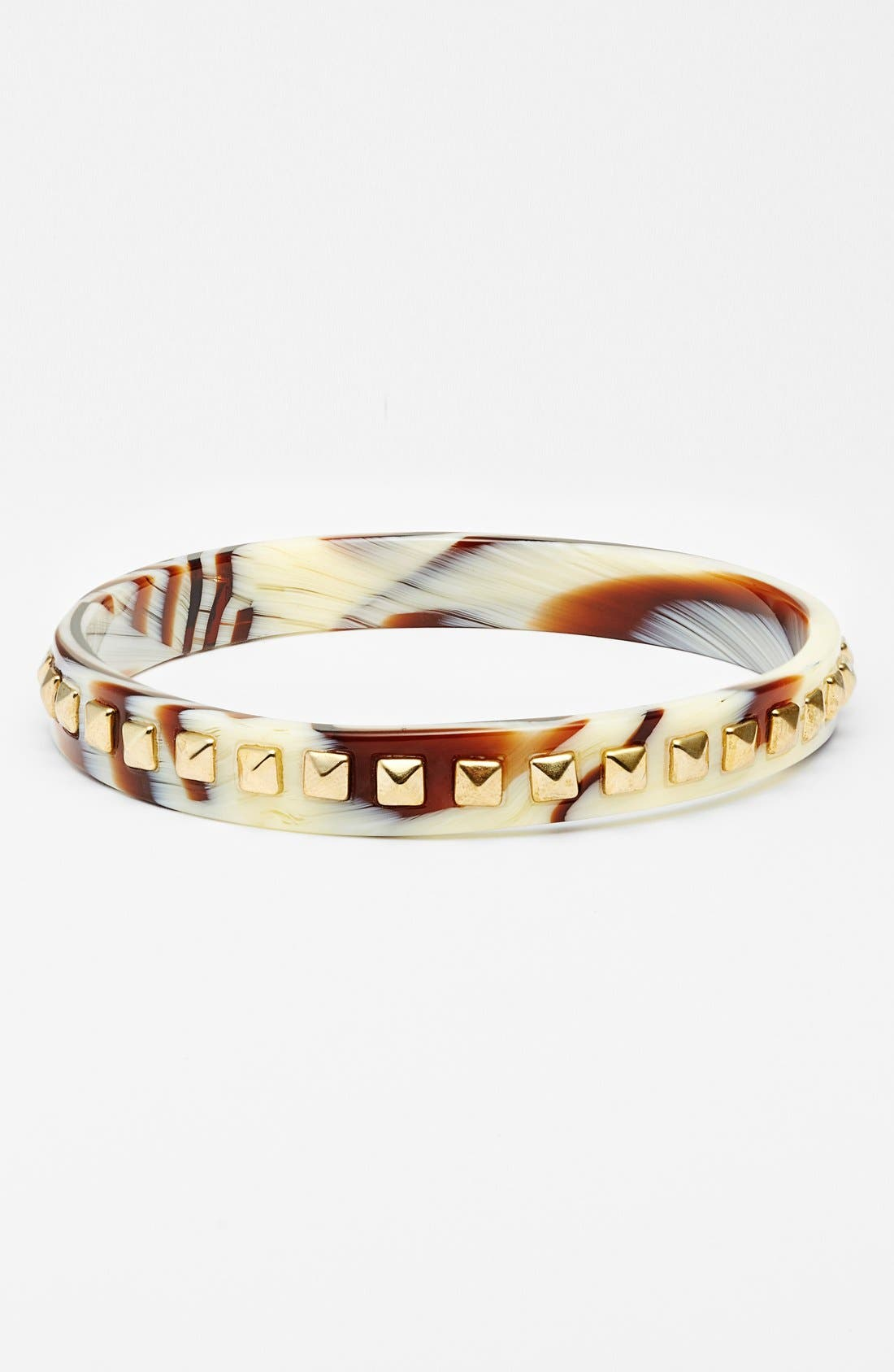'Little Susie' Studded Bangle,                         Main,                         color, Nataural Horn