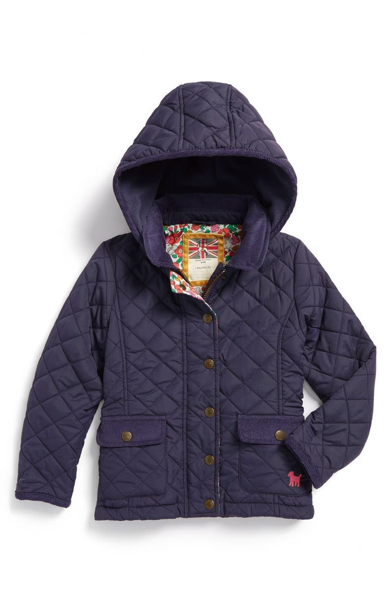 Mini Boden Quilted Jacket Toddler Girls Little Girls Big Girls