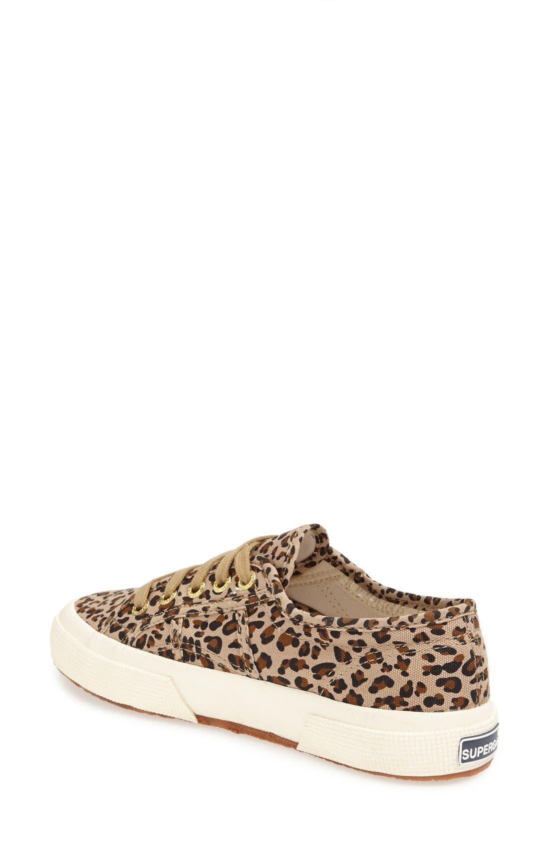 Alternate Image 2  - Superga 'Leo' Leopard Spot Slip-On Sneaker (Women)