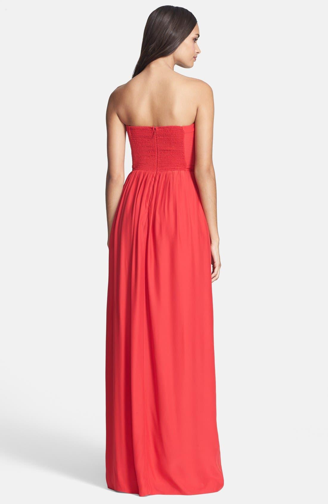 Alternate Image 2  - Parker 'Bayou' Silk Maxi Dress