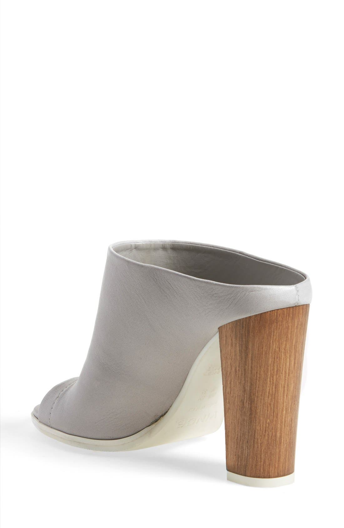 Alternate Image 2  - Vince 'Allison' Leather Mule Bootie (Women)