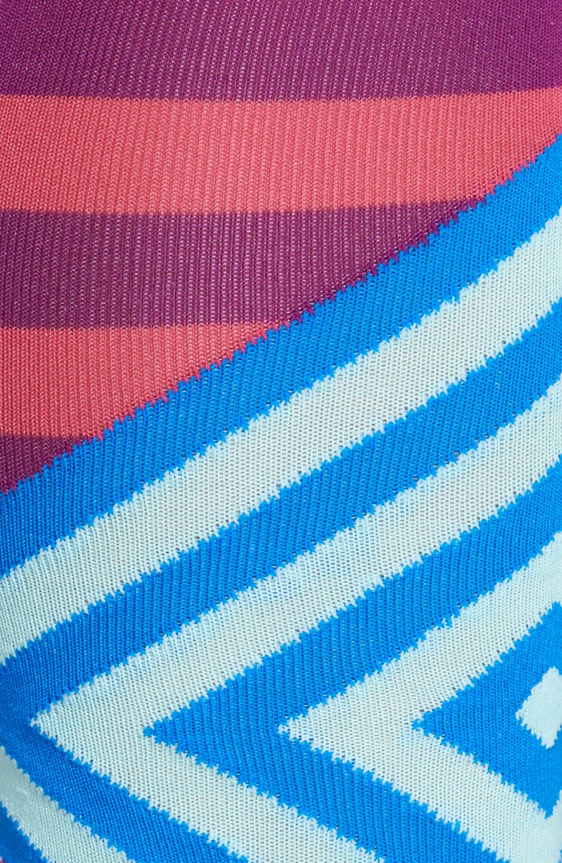 Alternate Image 2  - Hot Sox Mixed Stripe Knee High Socks