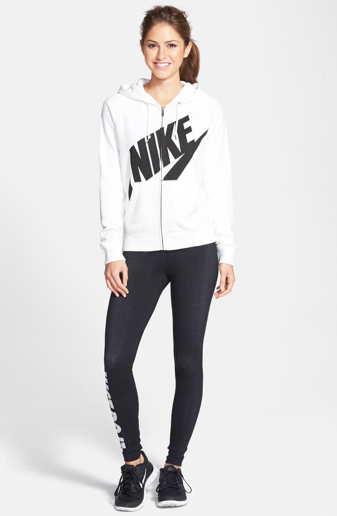 Alternate Image 3  - Nike 'Rally' Full Zip Hoodie