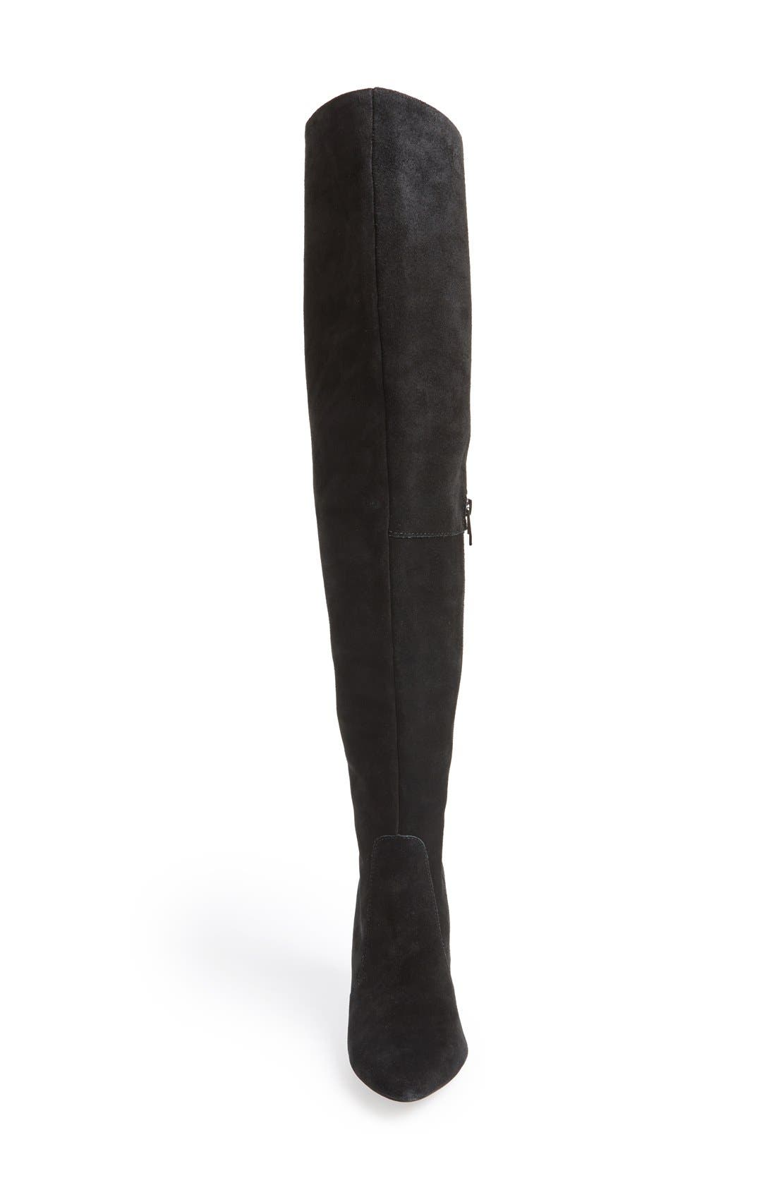 Alternate Image 3  - Vince Camuto 'Hollie' Over the Knee Pointy Toe Suede Boot (Women)