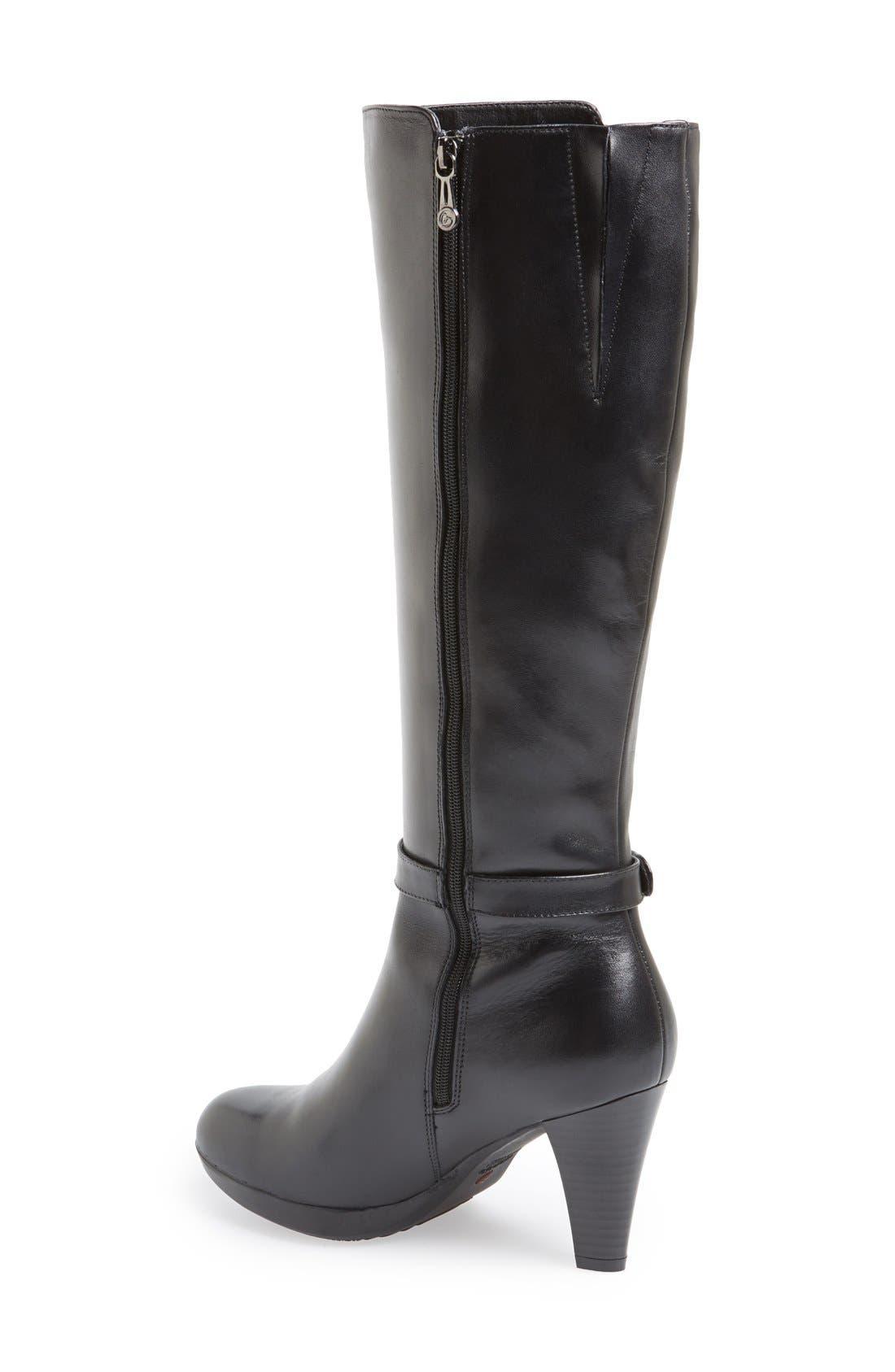 Alternate Image 2  - Blondo 'Ilanna' Knee High Leather Boot (Women)