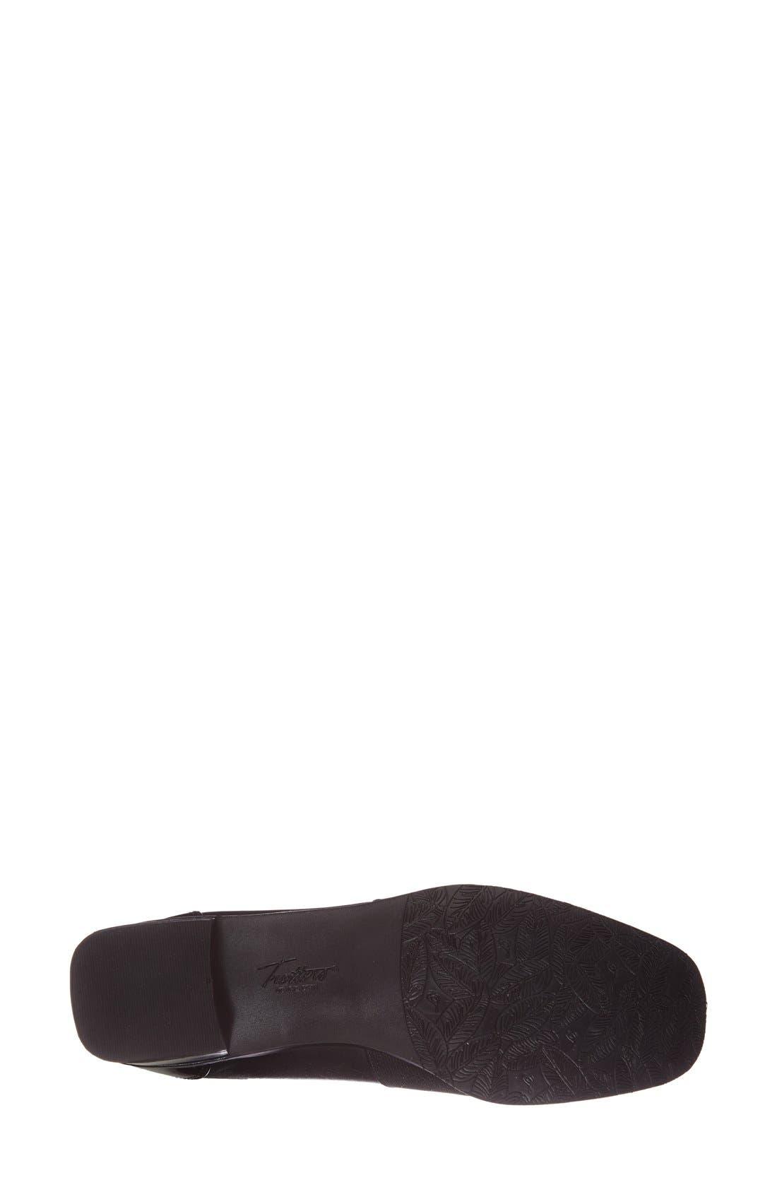 'Arianna' Loafer,                             Alternate thumbnail 4, color,                             Black