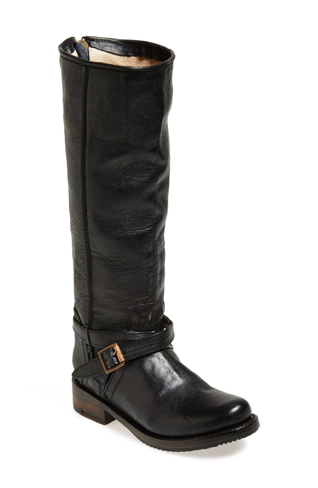 Alternate Image 1 Selected - Freebird by Steven 'Shadow' Distressed Leather Tall Boot (Women)