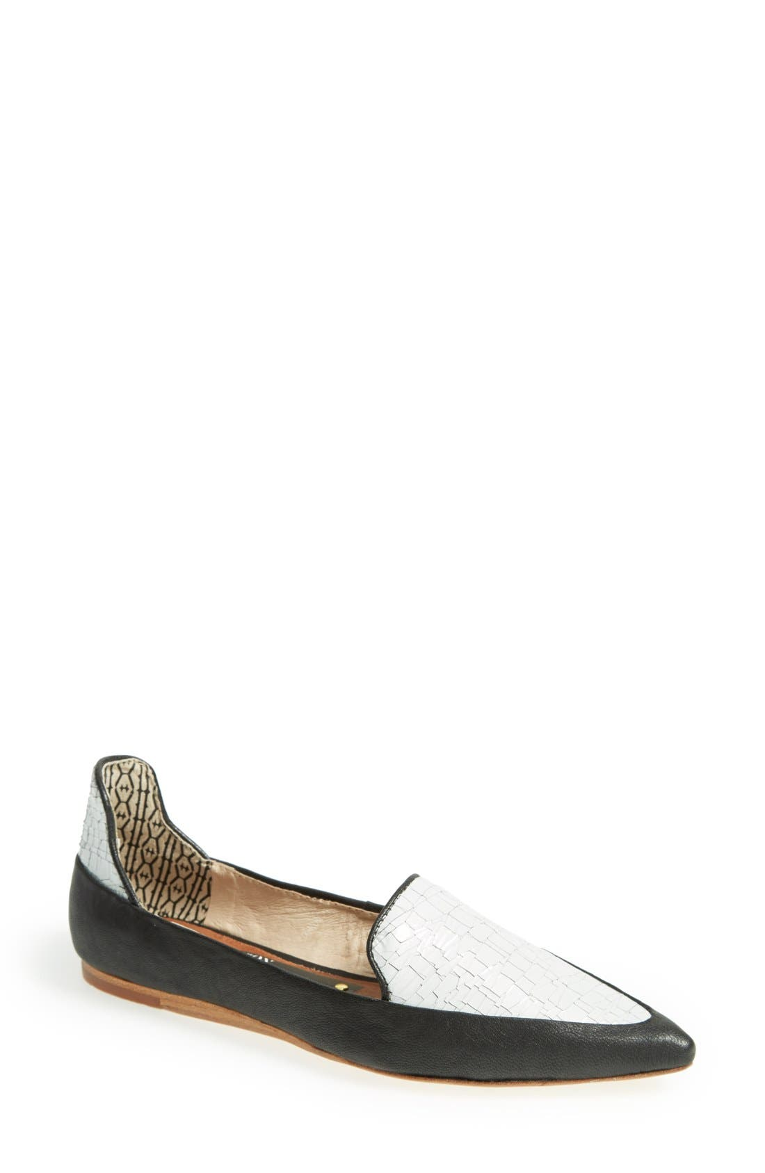 Alternate Image 1 Selected - Matt Bernson 'Verona' Leather Loafer (Women)